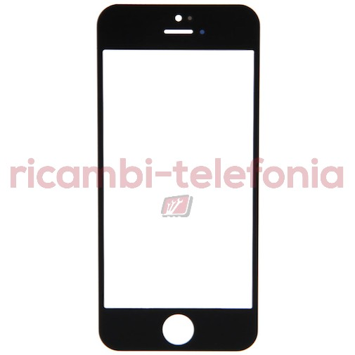 Vetro per iPhone 5 - Nero