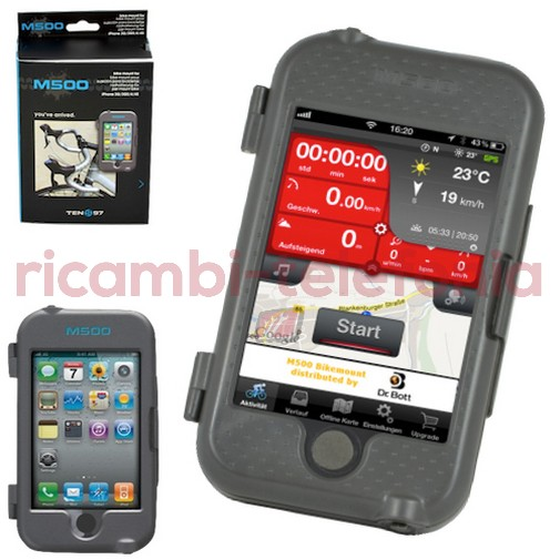 Supporto Ten-97 M500 - Bici iPhone 4/4s